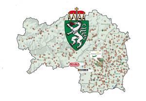 Karte von Bioenergie in der Steiermark
