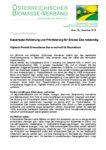 Download Pressemitteilung - Gaseinsatz-Halbierung und Priorisierung für Grünes Gas notwendig