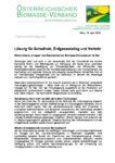 Download Pressemitteilung - Lösung für Schadholz, Erdgasausstieg und Verkehr
