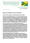 Download Pressemitteilung - Österreichs Erdölimporte erreichen ein Allzeithoch