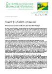 Download Pressemitteilung - Holzgas für Strom, Kraftstoffe und Erdgasersatz