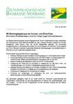 Download Pressemitteilung - Mit Bioenergiepaket aus der Corona- und Klima-Krise