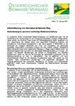Download Pressemitteilung - Diskreditierung von Biomasse ist falscher Weg
