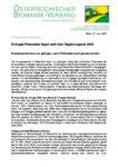 Download Pressemitteilung - Grüngas-Potenziale liegen weit über Regierungsziel 2030