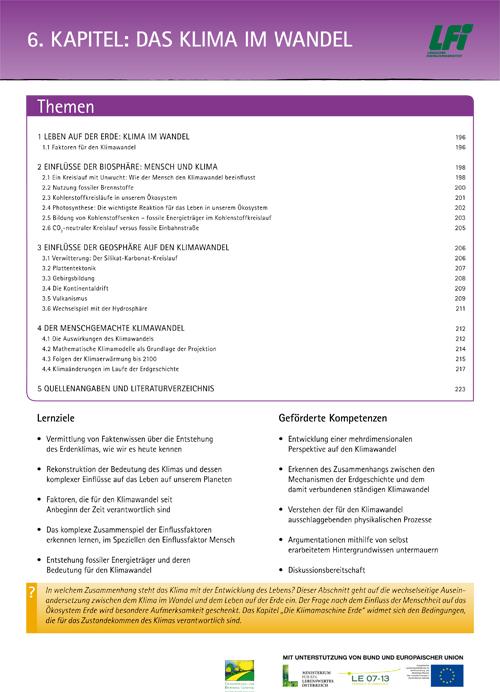 Kapitel 6 Das Klima im Wandel Thumbnail