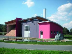 Biomasse-Heizwerk in St. Martin in der Wart
