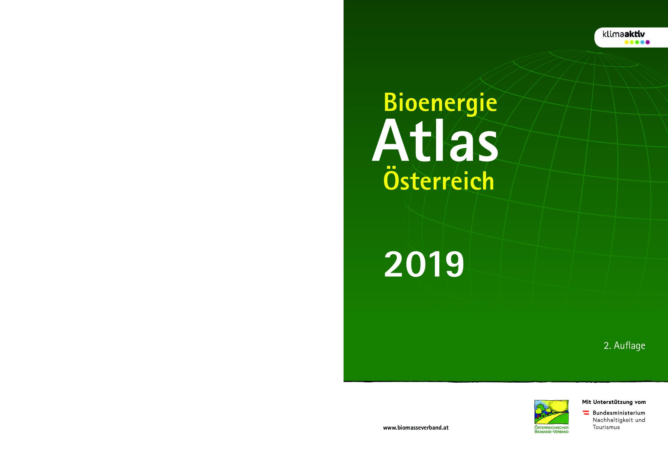 Bioenergie Atlas Österreich 2019