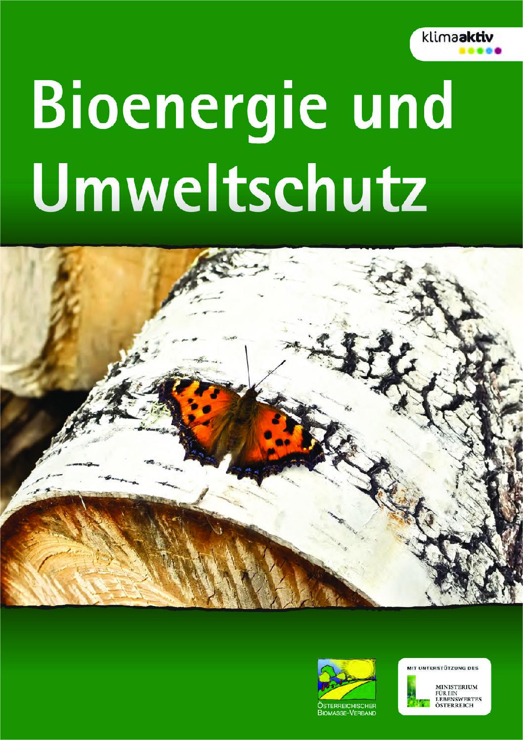 Bioenergie und Umweltschutz
