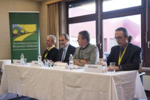 von links Peter Püspök (Erneuerbare Energie Österreich EEÖ), Josef Plank, Franz Titschenbacher, Christoph Strasser