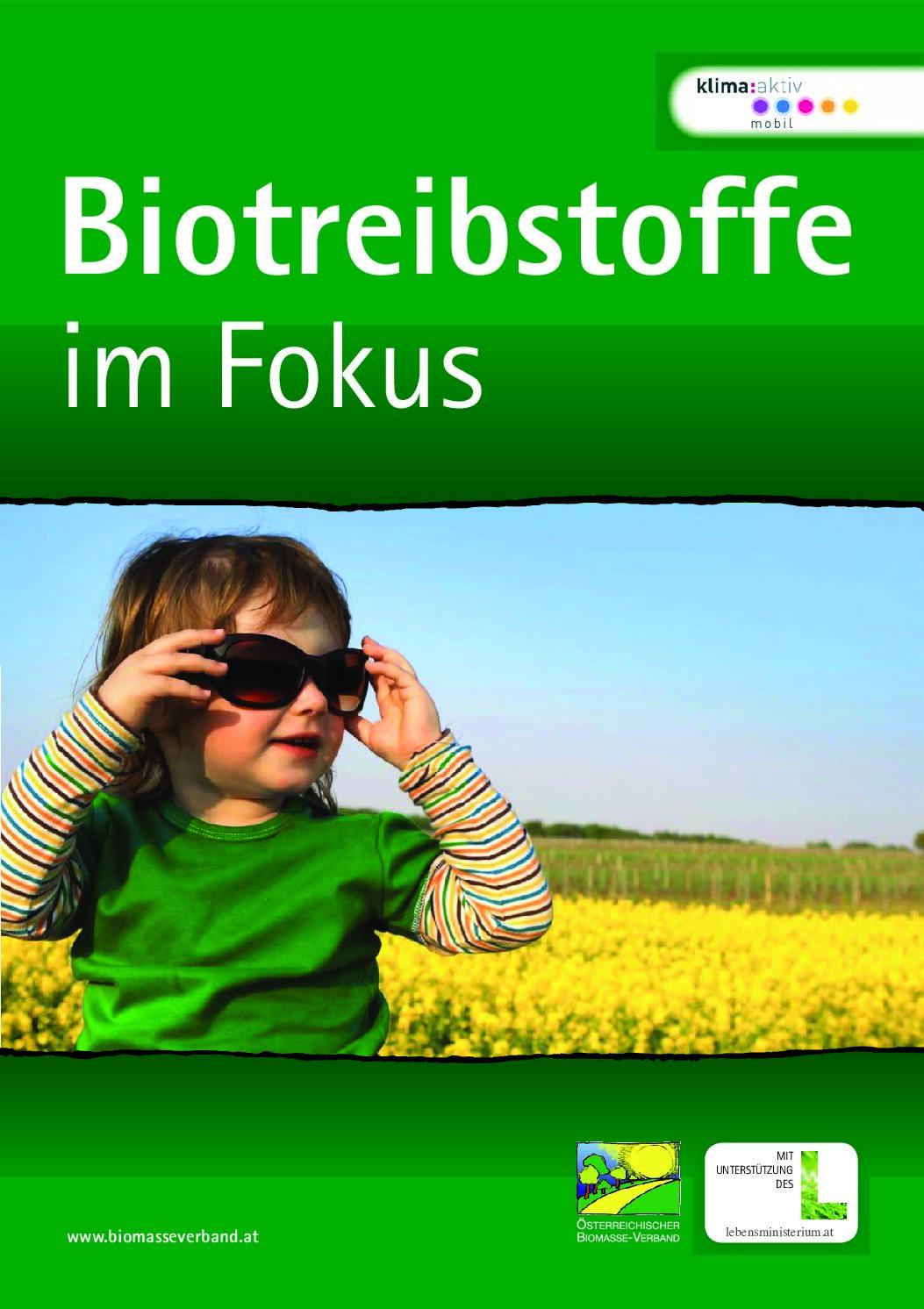 Biotreibstoffe im Fokus