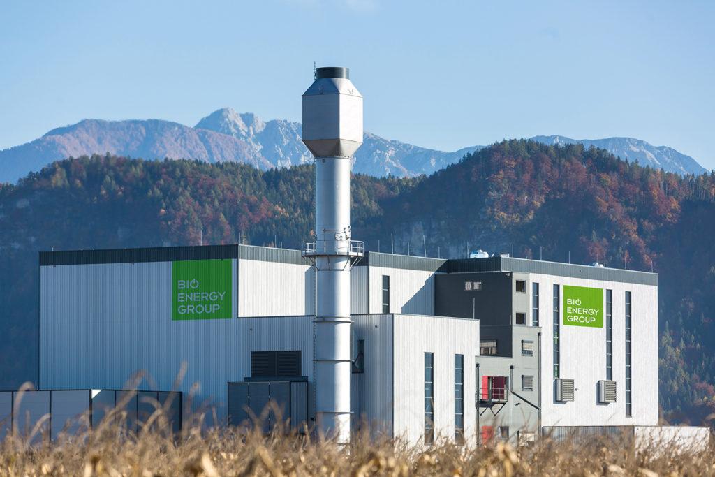 Biomasseheizkraftwerk Klagenfurt Ost