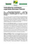 Download Pressemitteilung - Holzkraftwerke mobilisieren ungenütztes Biomassepotenzial