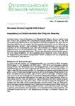Download Pressemitteilung - Biomasse-Verband begrüßt EAG-Entwurf