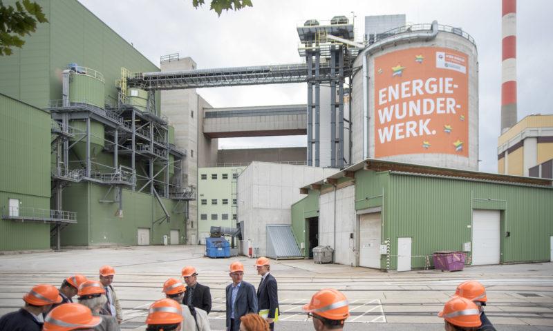 Waldbiomassekraftwerk Simmering