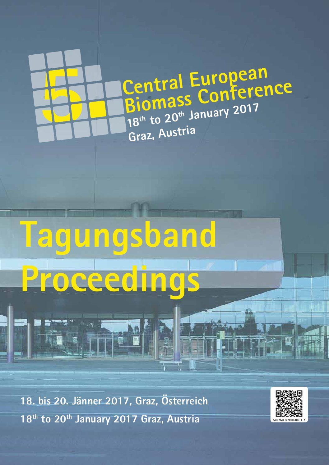 Tagungsband / Conference Proceedings CEBC 2017