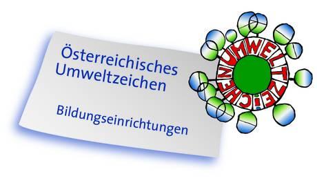 Logo Österreichisches Umweltzeichen Bildung