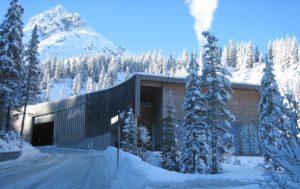 Heizwerk in Lech am Arlberg