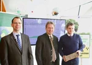 v.li.: Peter Liptay, Franz Titschenbacher und Christoph Pfemeter