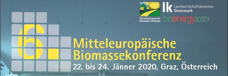Headergrafik CEBC 2020 6. Mitteleuropäische Biomassekonferenz